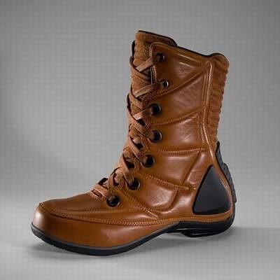 chaussure moto femme etanche,bottes moto gendarmerie,chaussure moto monster
