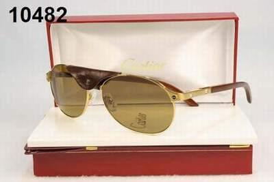 cd1712d1a6f lunette cartier santos neuf